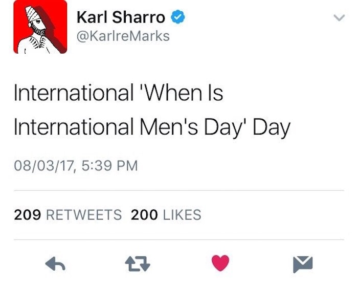 When Is Mens Day