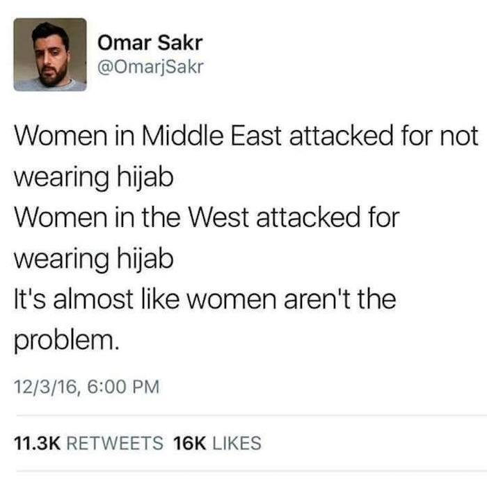 Women Arent Problem