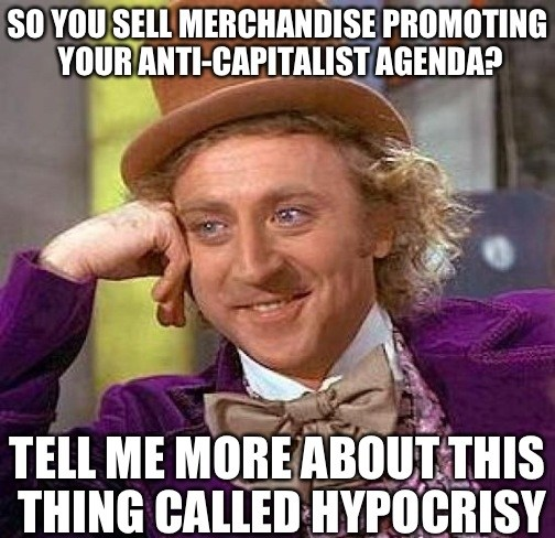 Wonka Hypocrisy