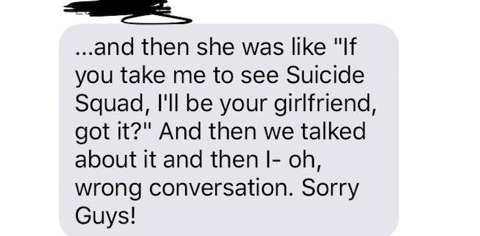 Wrong Conversation
