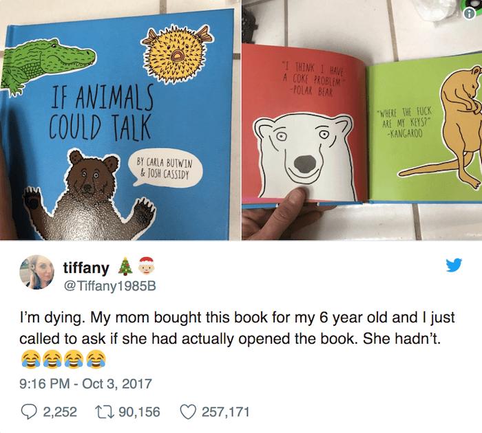 Animals Talk Book
