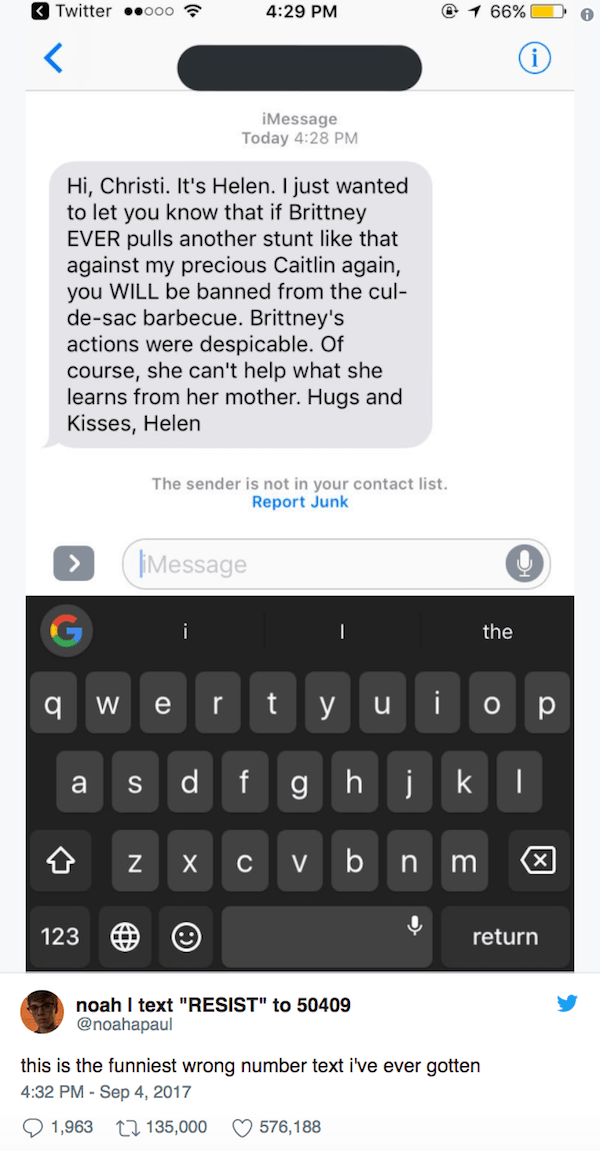 Assholes Wrong Number