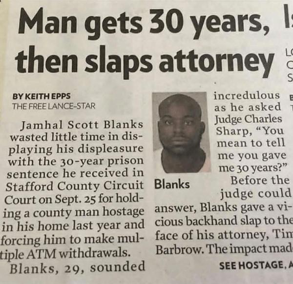 Attorney Slap