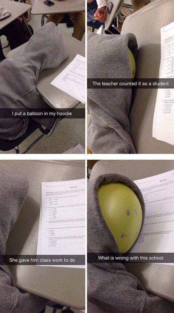 Balloon Student