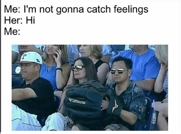 I'm Not Gonna Catch Feelings
