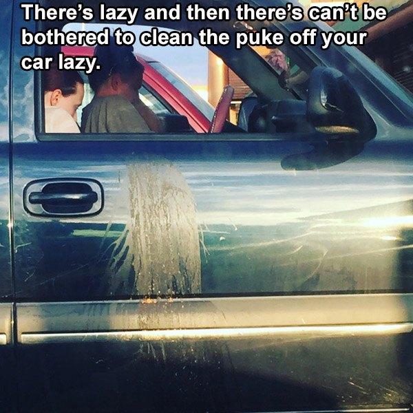 Car Puke