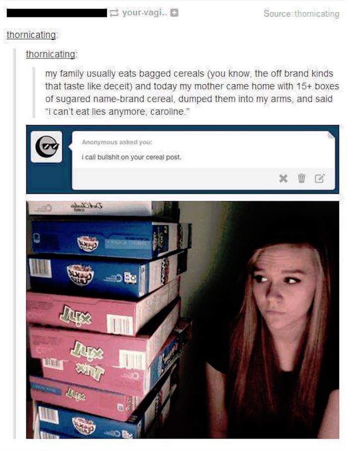 Cereal Mom