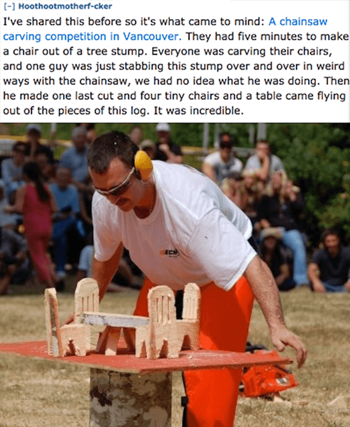 Chair Carving