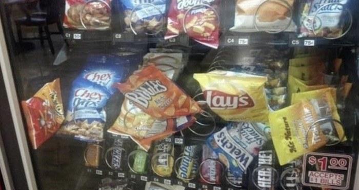 Chips Stuck