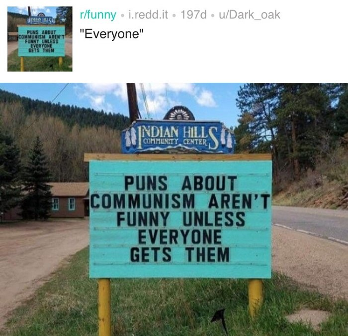 Communism Puns