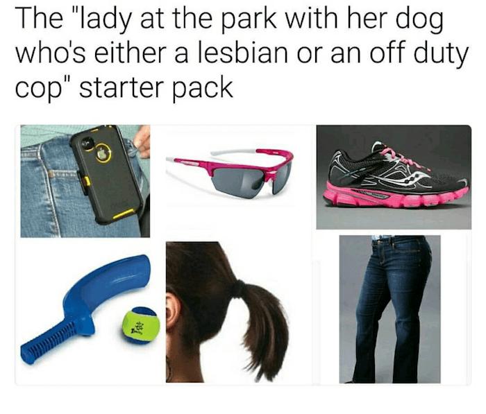 Cop Or Lesbian