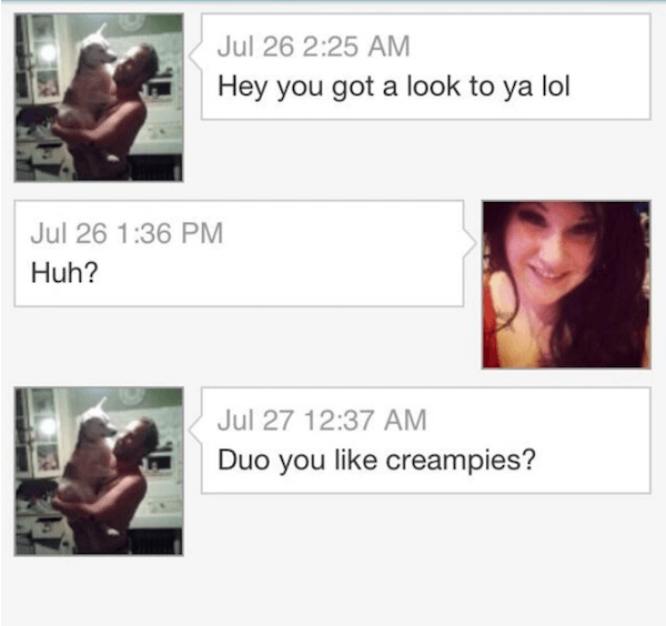 Creampies