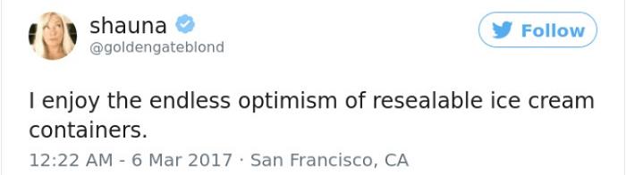 Creamy Optimism