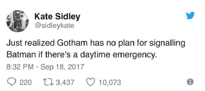 Daytime Batman