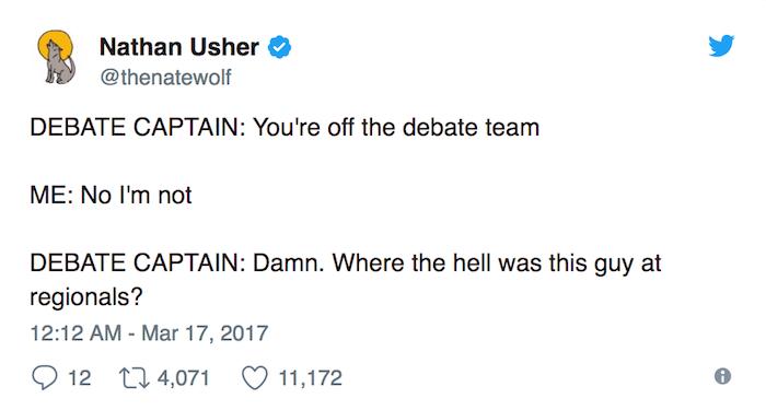 Debate Captain