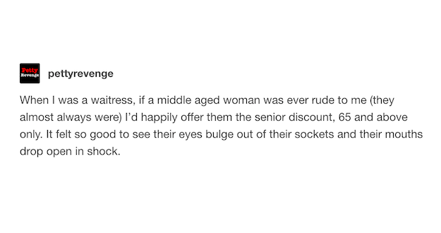 Discount For Middle Aged Women