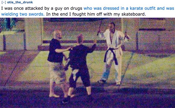 Drunk Karate Man