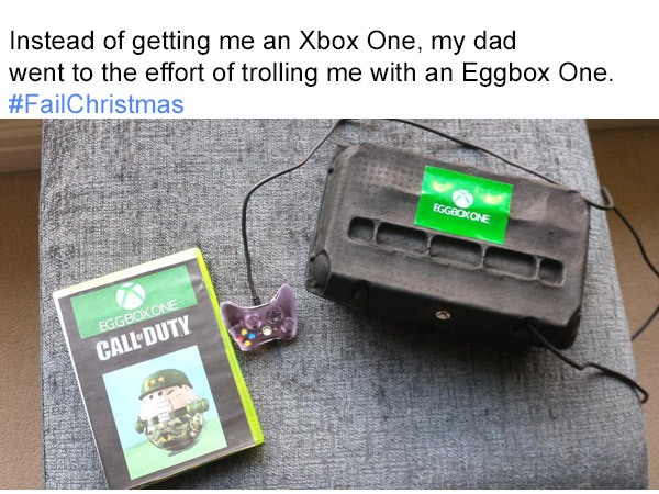 Eggbox Bad Christmas Gifts