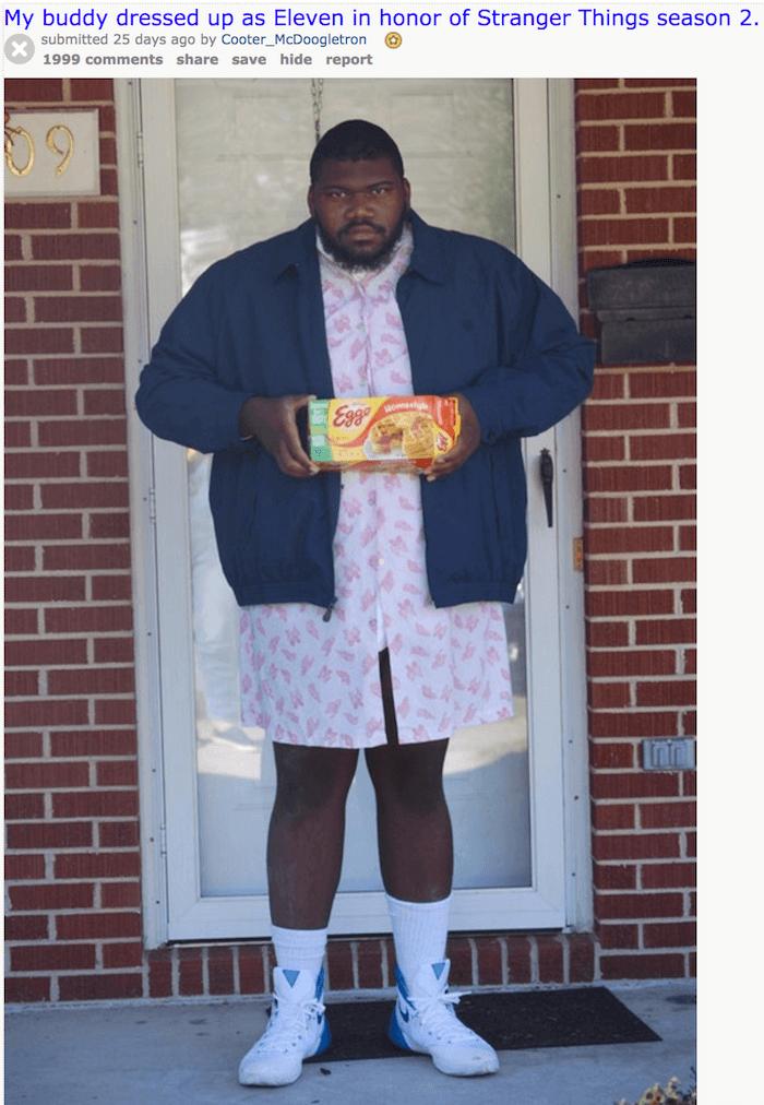 Eleven Costume Funny