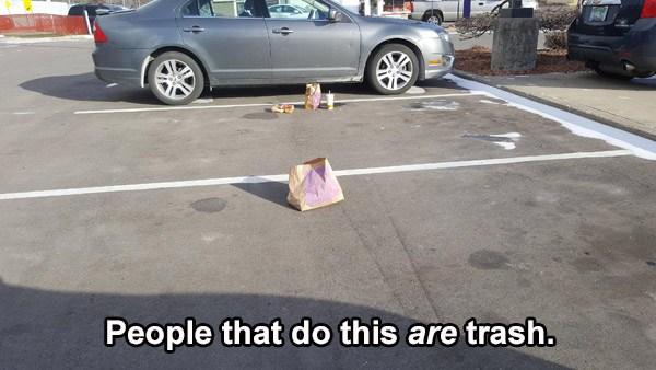 Fastfood Trash