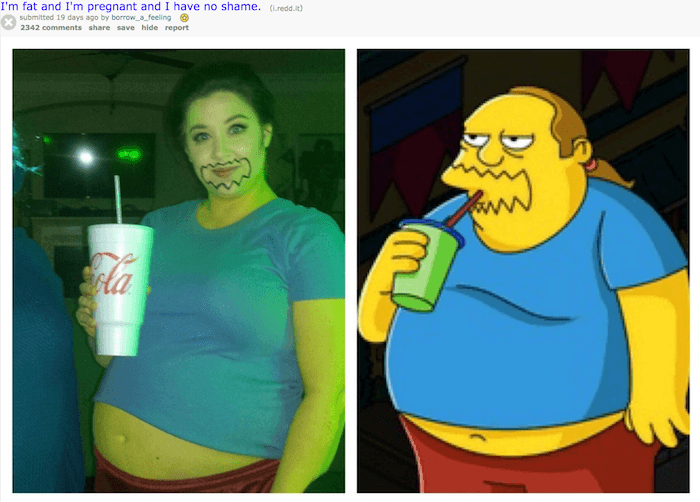 Fat And Pregnant