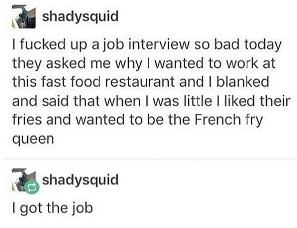French Fry Queen