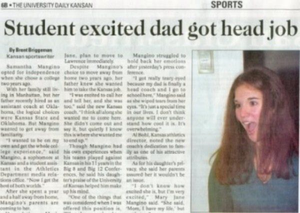Funniest News Headlines