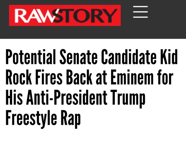Funny Headlines Kid Rock