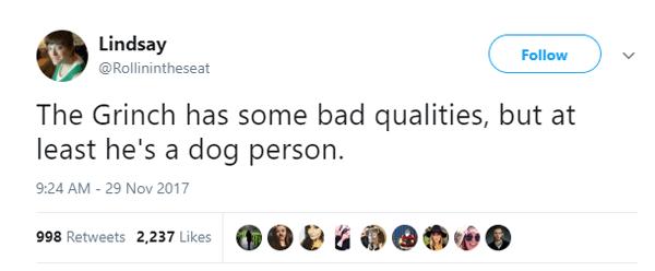 Grinch Dogperson