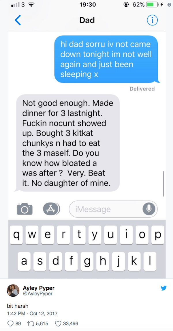 Harsh Dad