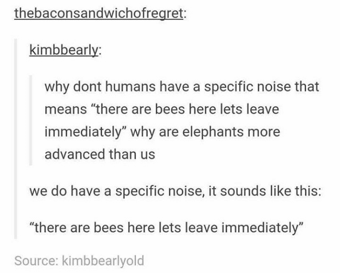 Humans And Bees