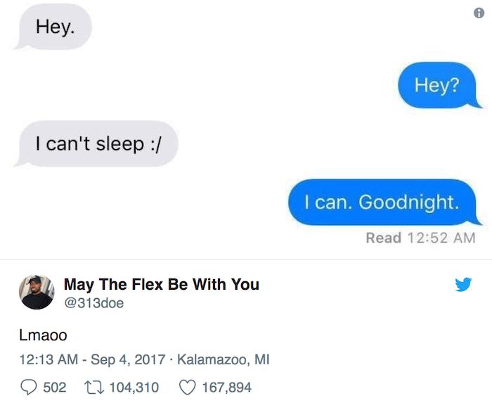 I Cant Sleep