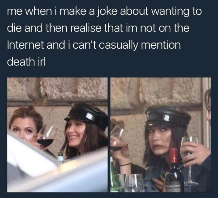 Joking About Death