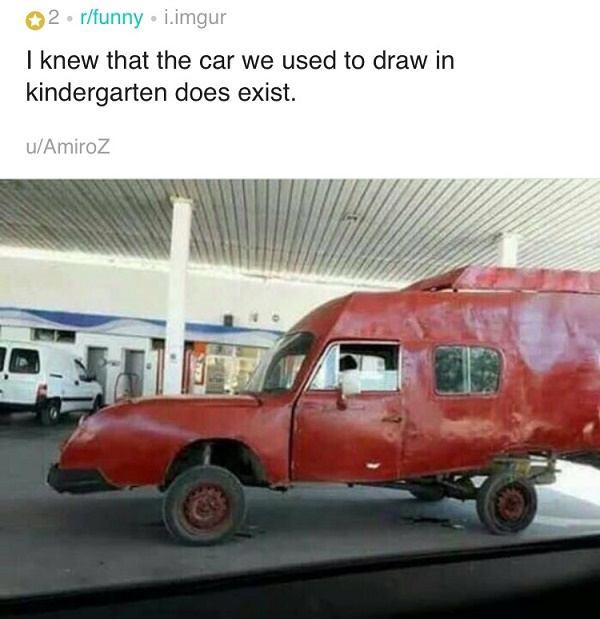 Kindergarten Car