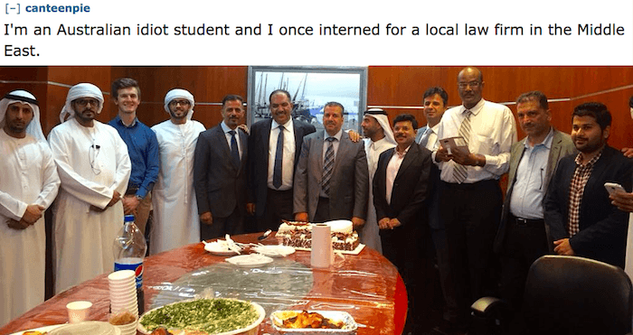 Middle East Internship