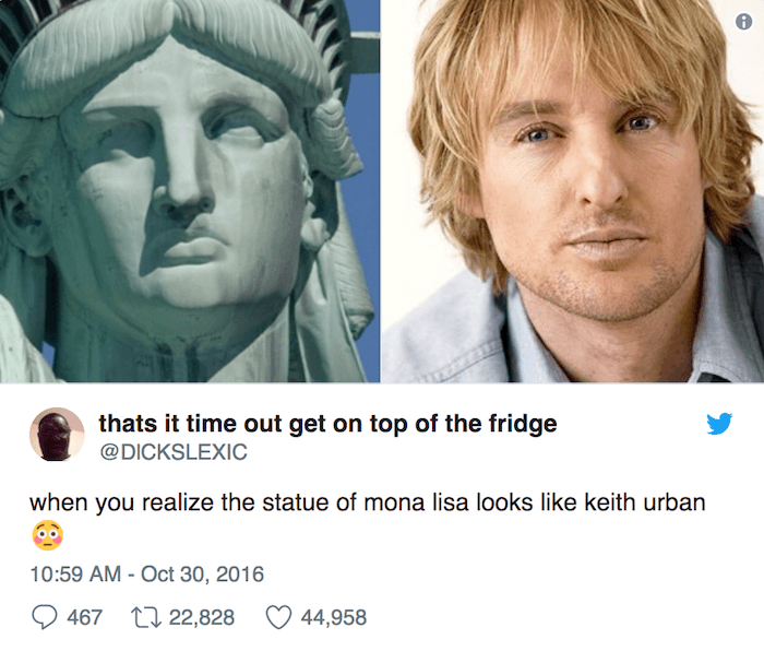 Mona Lisa Keith Urban