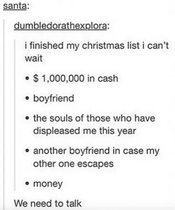 Money Boyfriend List