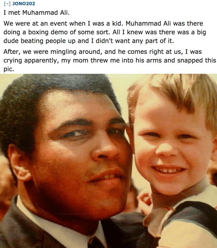 Muhammad Ali And Kid