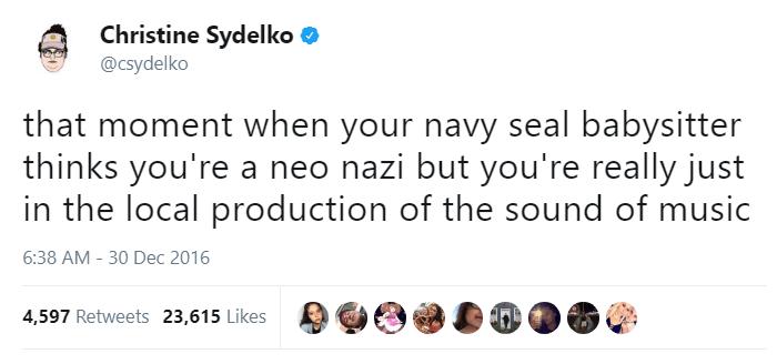 Navy Seal Babysitter