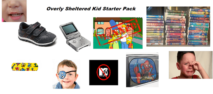 Overly Sheltered Kid