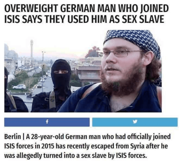 Overweight German Man Funny Headlines