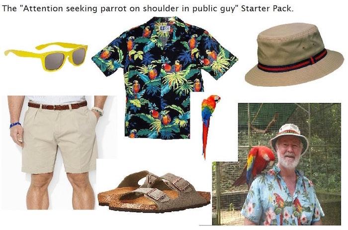 Parrot Dude
