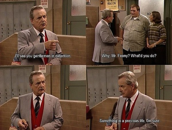The One With Advice From Mr. Feeny - The One Where I Move To ...