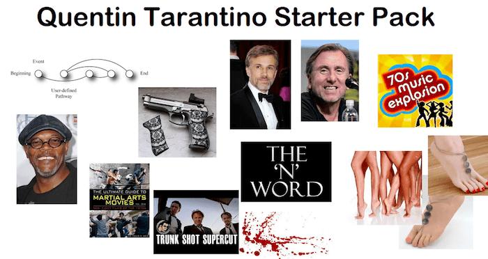 Quentin Tarantino Starter Pack