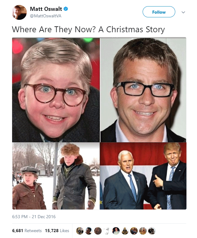 Tweets About Christmas Movies