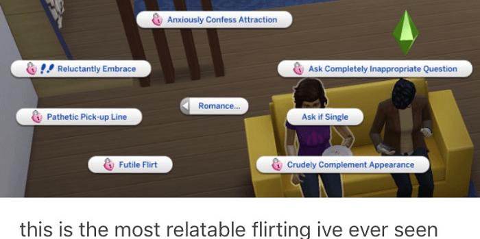 Relatable Flirting
