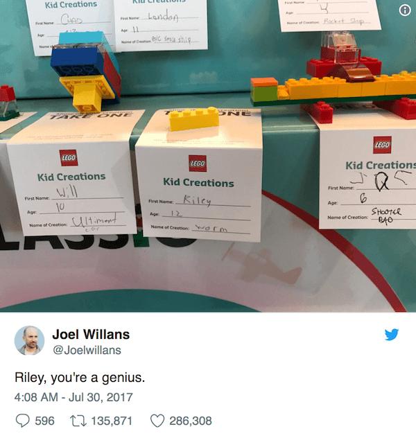 Riley Lego