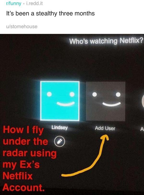 Secret Netflix User