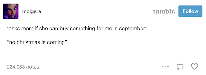 September Gifts