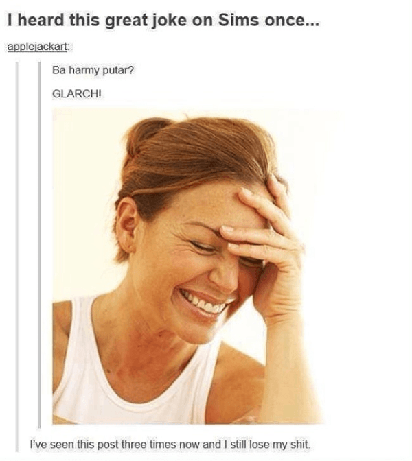 Sims Joke